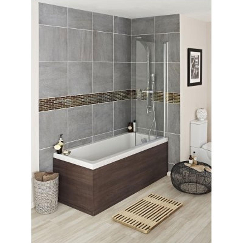 Hudson Reed MDF Bath Front Panel 1700mm Wide Mid Sawn Oak