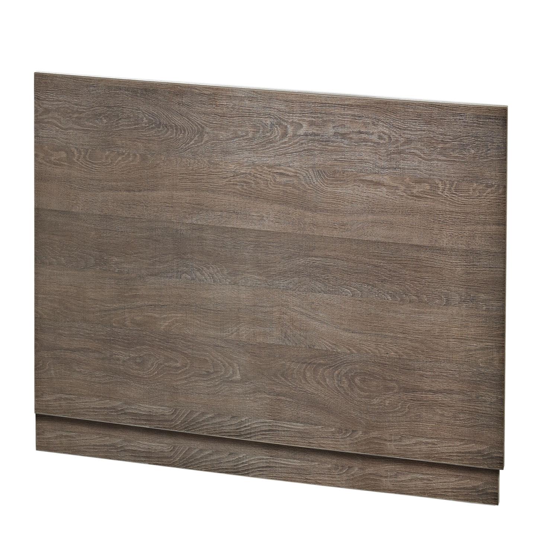 Hudson Reed MDF Bath End Panel 700mm Wide Mid Sawn Oak