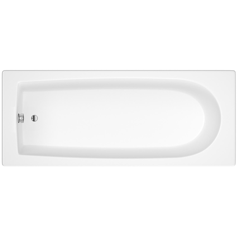 Hudson Reed Barmby Single Ended Rectangular Bath 1700mm x 700mm - Eternalite