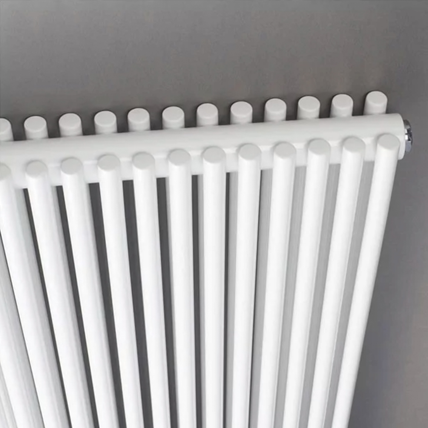 Hudson Reed Refresh Double Designer Vertical Radiator 1500mm H x 350mm W White