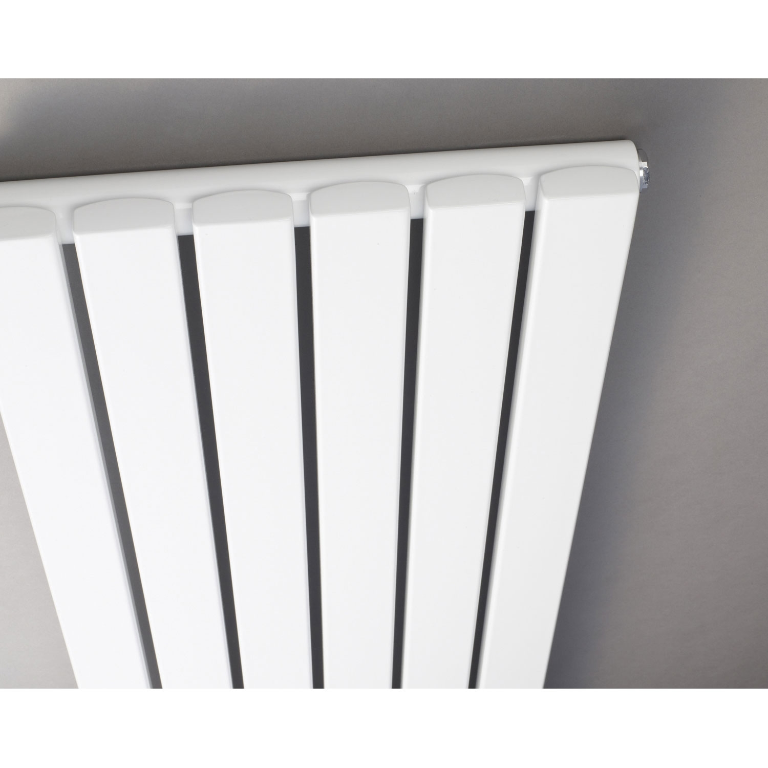 Hudson Reed Revive Single Designer Vertical Radiator 1800mm H x 354mm W White