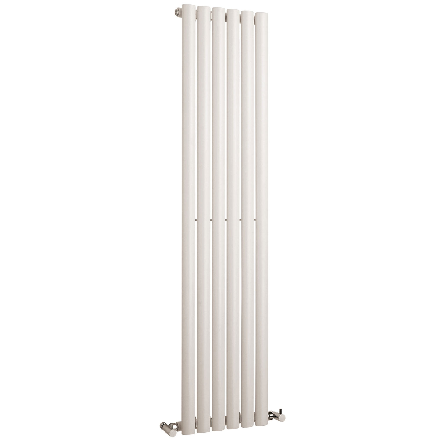 Hudson Reed Revive Single Designer Vertical Radiator 1500mm H x 354mm W White