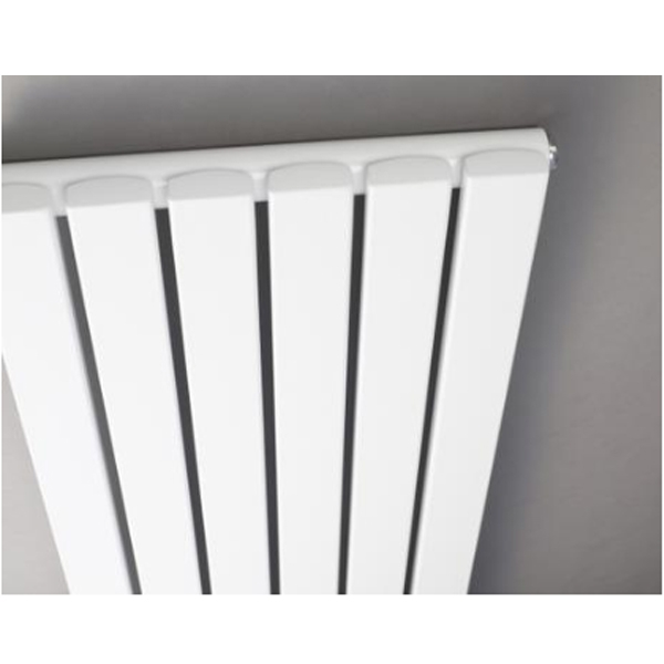 Hudson Reed Sloane Single Designer Vertical Radiator 1800mm H x 354mm W White