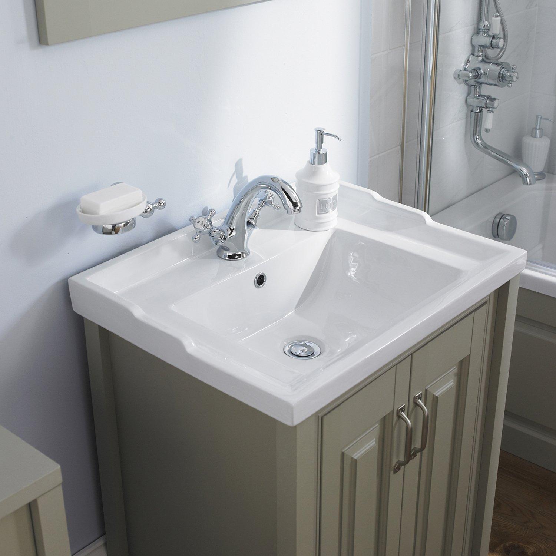 Cheap Bathroom Sink Units: Hudson Reed Traditional Vanity Unit