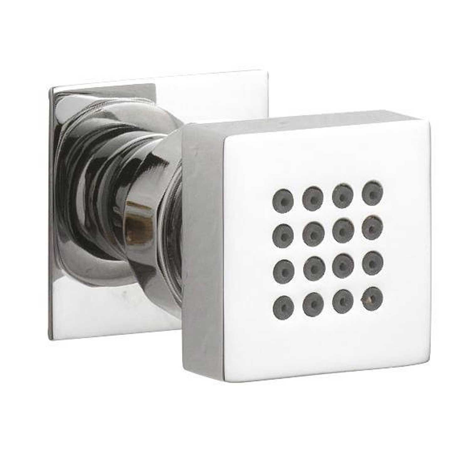 Hudson Reed Tec Concealed Shower Mixer with Fixed Head + Body Jets - Chrome