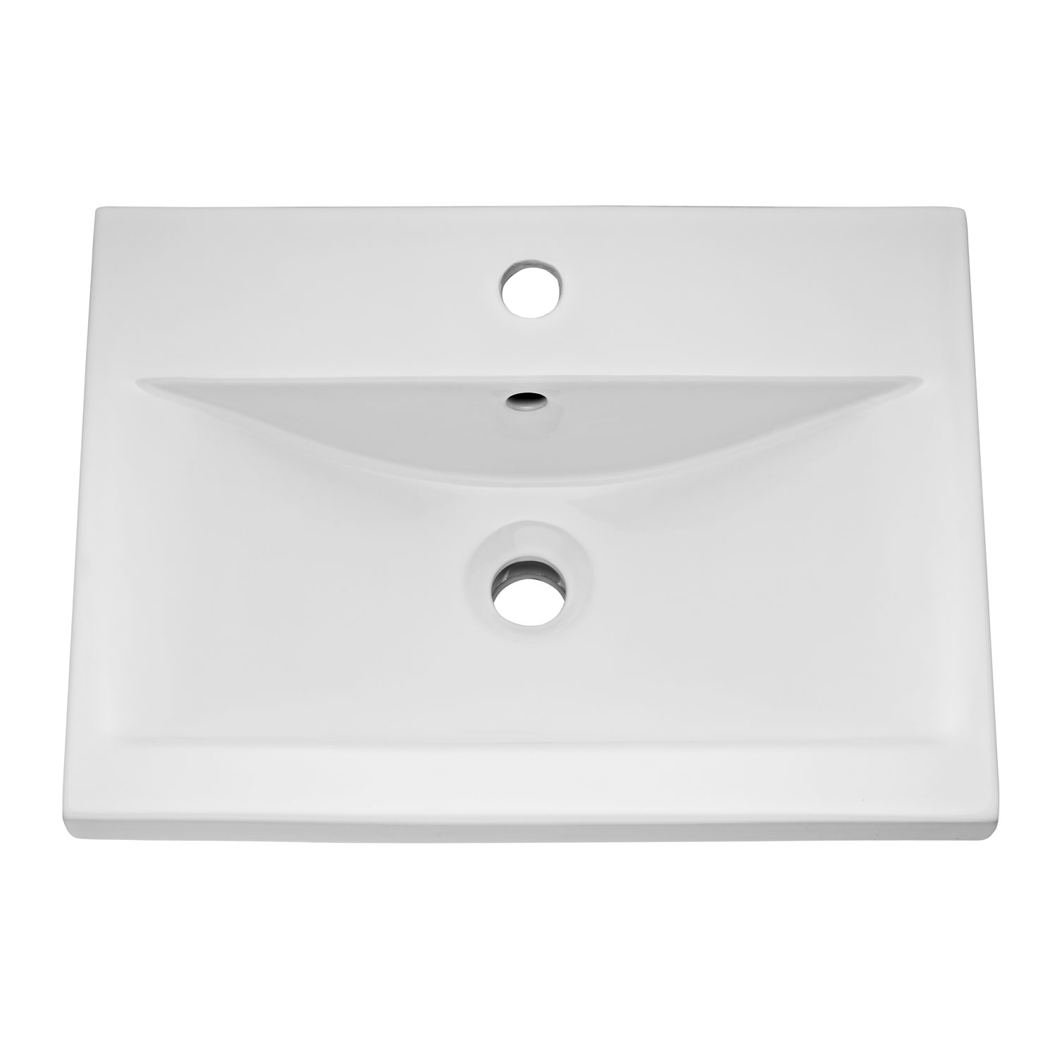 Hudson Reed Urban Wall Hung Vanity Unit and Basin 1 Grey Avola - 500mm Wide