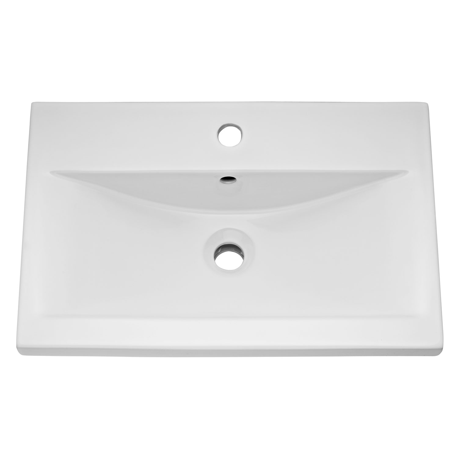 Hudson Reed Urban 1 Wall Hung Vanity Unit with Basin 1 Grey Avola - 600mm Wide-1