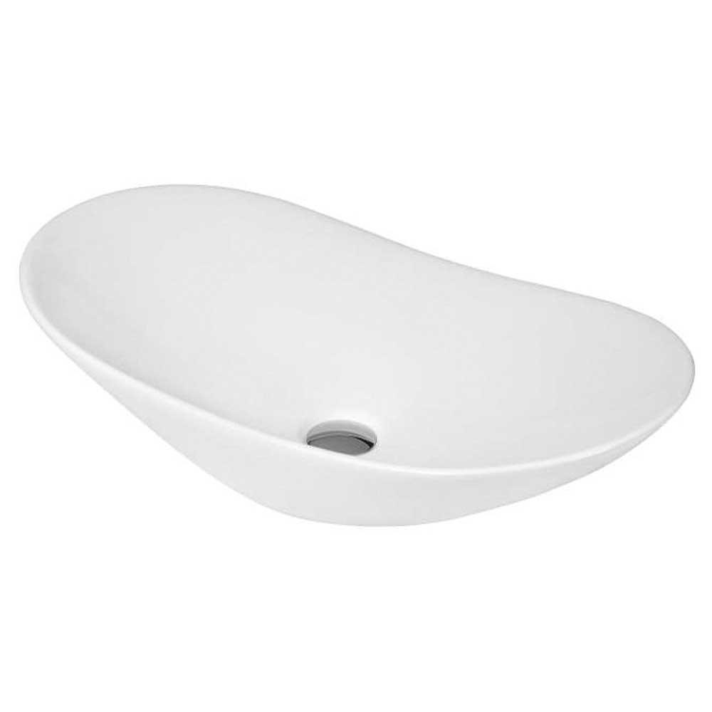 Hudson Reed Vessel Sit-On Countertop Basin 615mm Wide - 0 Tap Hole