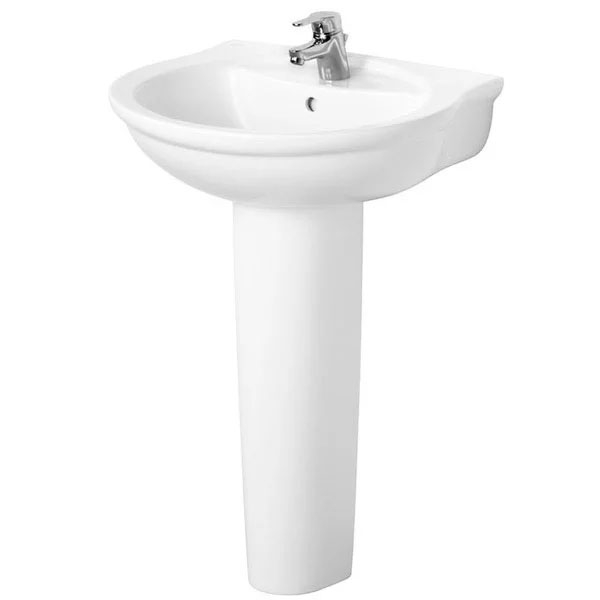 Ideal Standard Alto Bathroom Cloakroom Suite Toilet 1 Tap Basin White-0