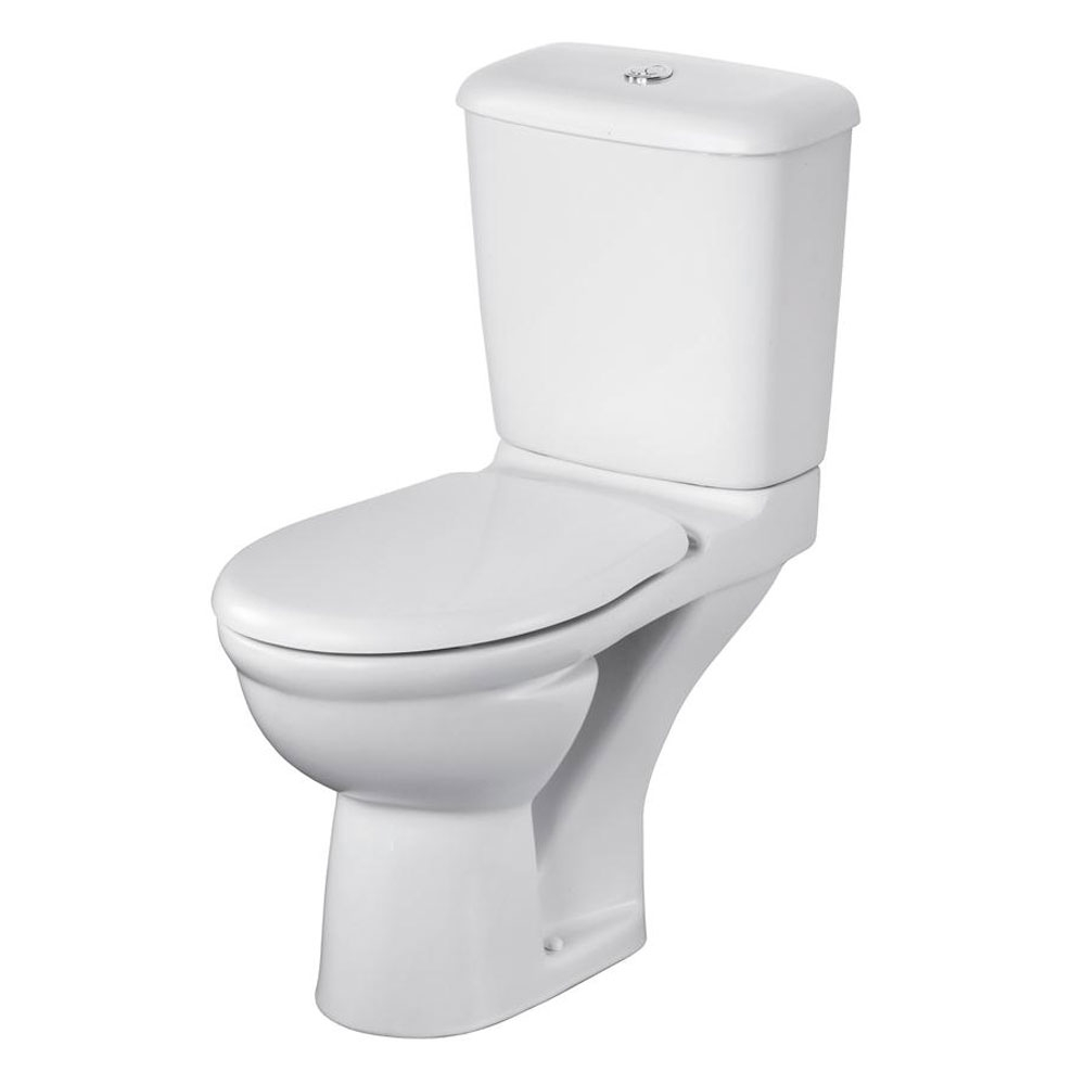 Ideal Standard Alto Bathroom Cloakroom Suite Toilet 1 Tap Basin White-1