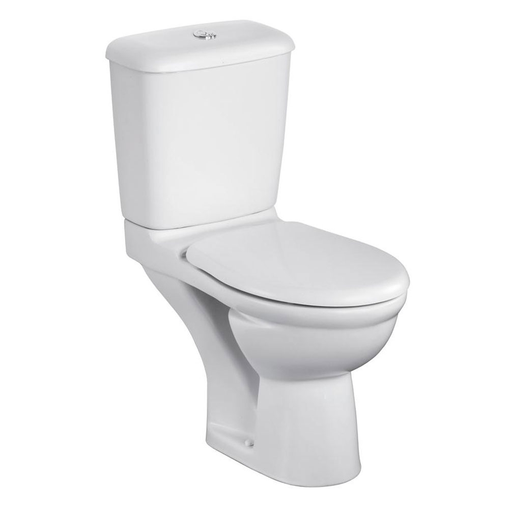 Ideal Standard Alto Bathroom Cloakroom Suite Toilet 2 Tap Basin White-1