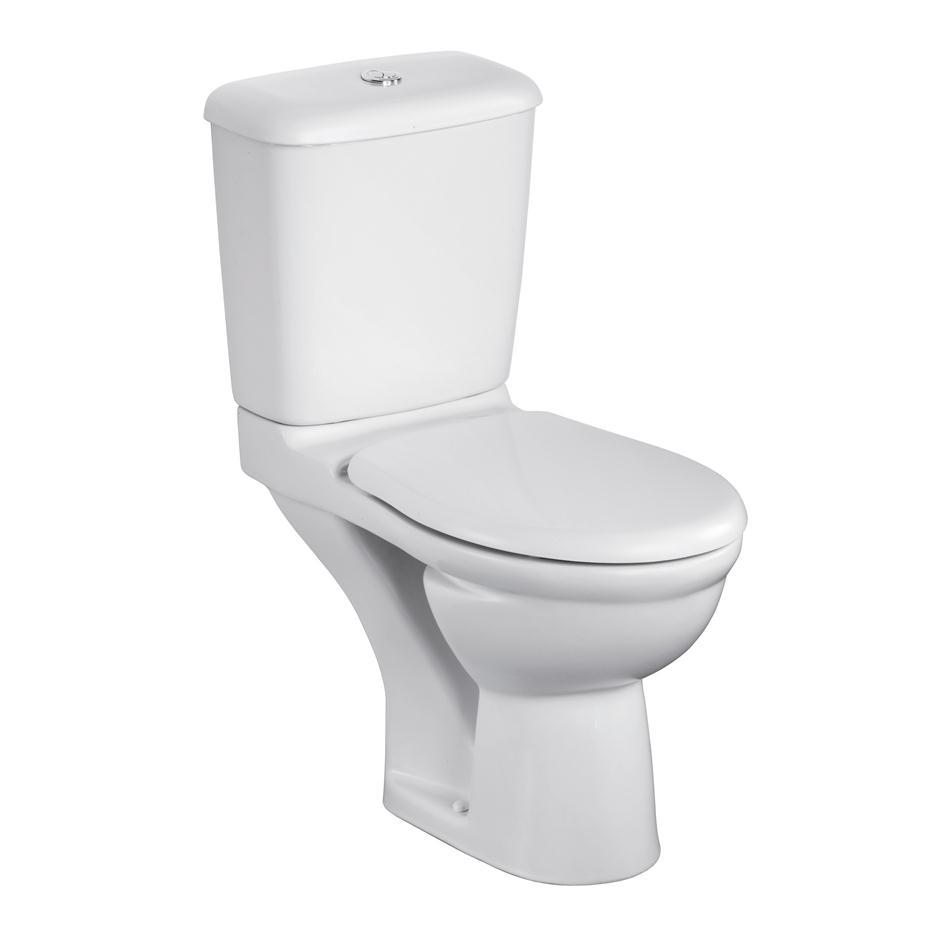 Ideal Standard Alto Value Suite Close Coupled Toilet 1 Tap Hole Basin White-2
