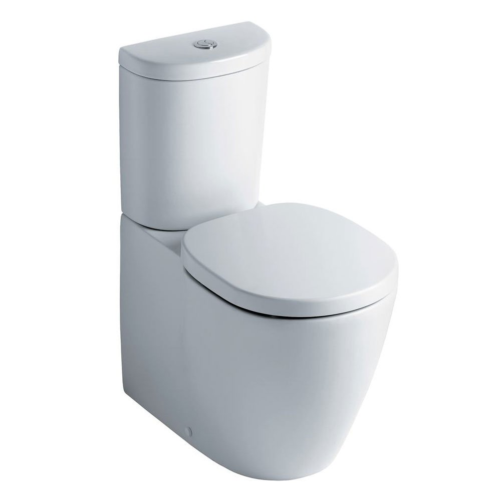 Ideal Standard Concept Bathroom Cloakroom Suite Close 1 Tap Basin White-0