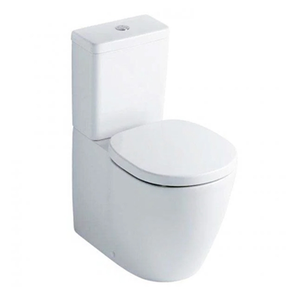 Ideal Standard Concept Value Suite Close Coupled Toilet 1 Tap Hole Basin White-0