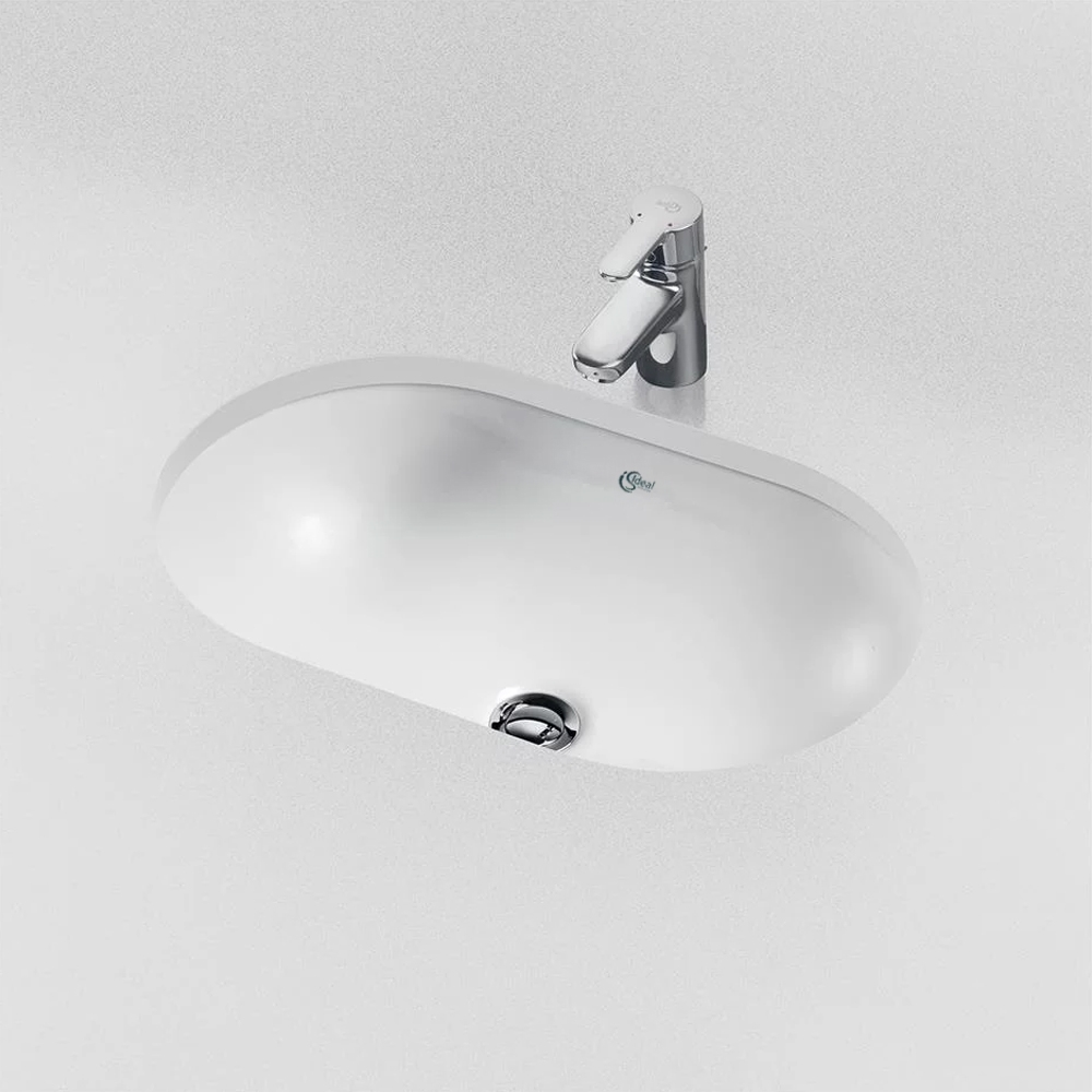 Ideal Standard Concept Oval Under-countertop Basin 550mm Wide
