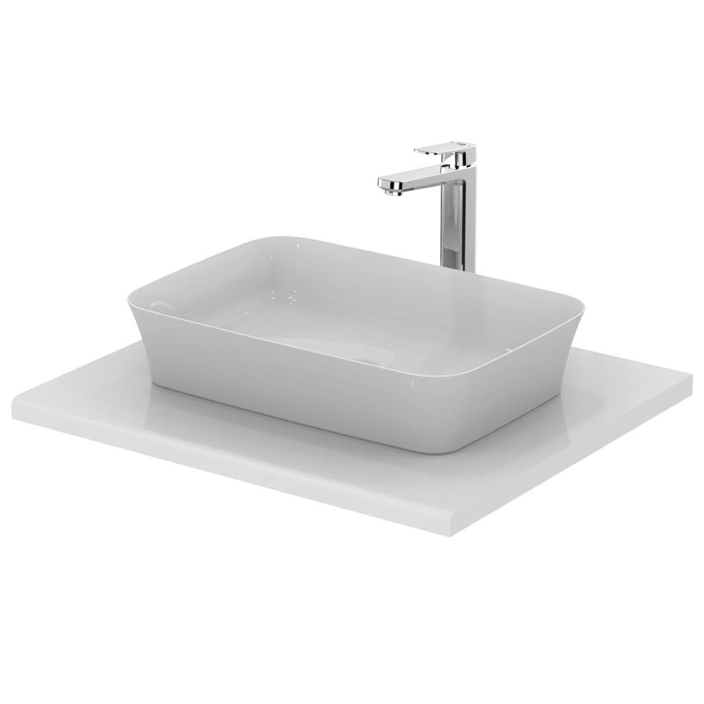 Ideal Standard Ipalyss Vessel Countertop Basin 550mm Wide 0 Tap Hole