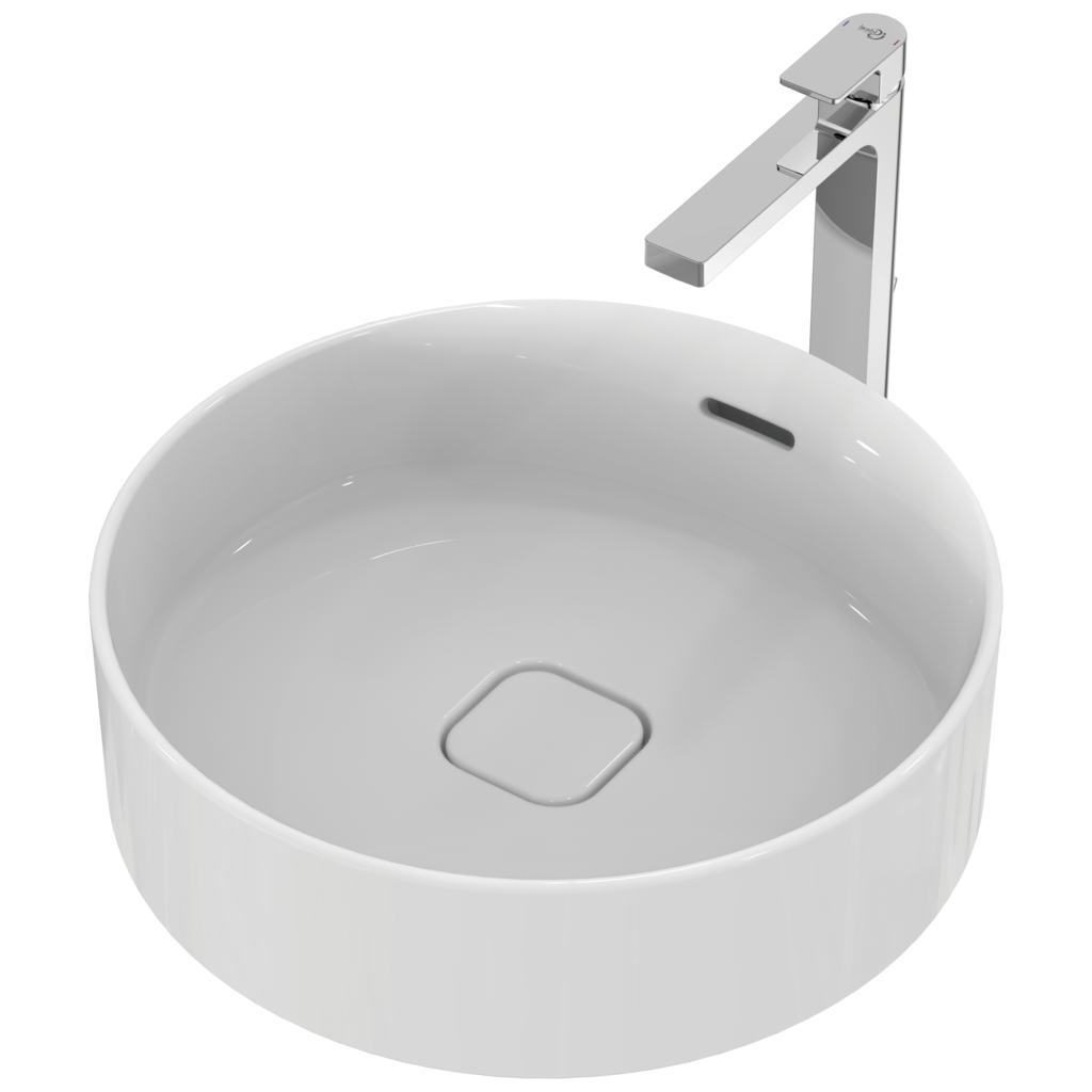 Ideal Standard Strada 2 Vessel Round Countertop Basin 450mm Wide 0 Tap Hole