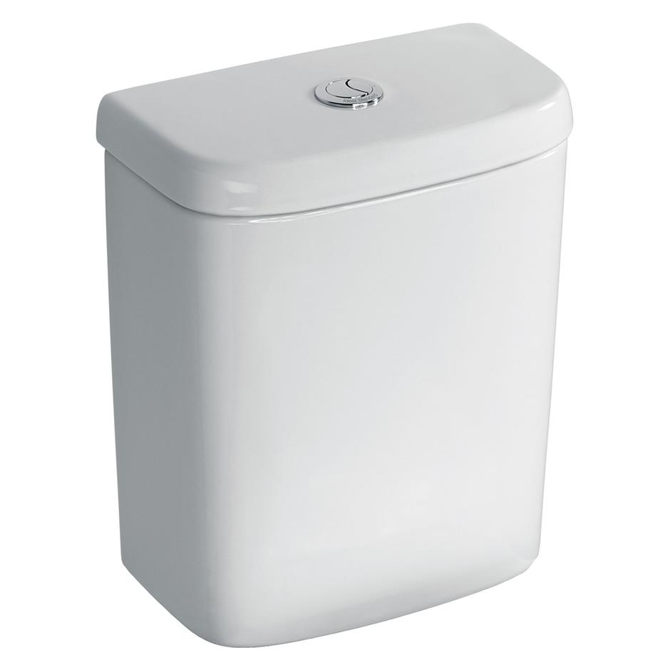 Ideal Standard Tempo Value Suite Close Coupled Toilet 2 Tap Hole Basin White-2