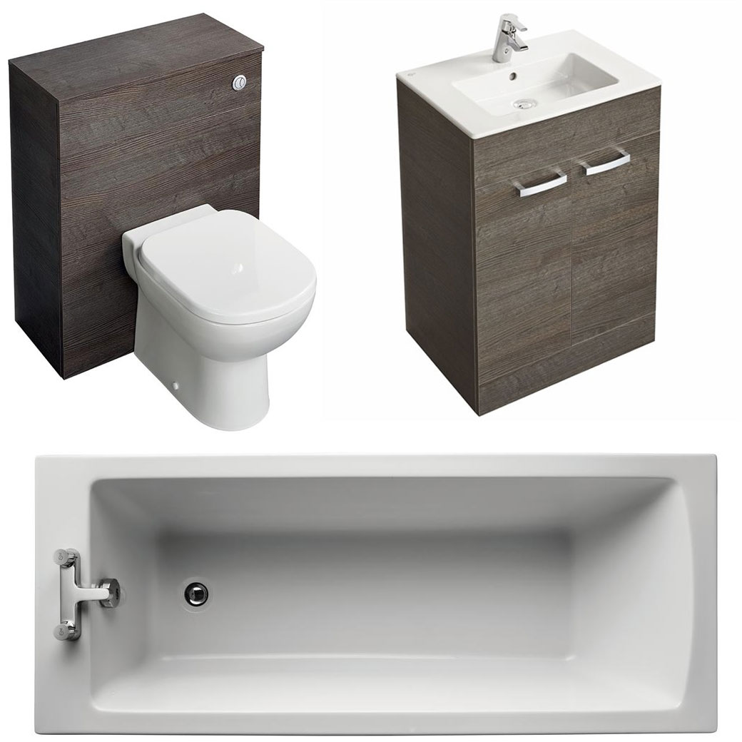 Ideal Standard Tempo Modern Bathroom Suite-4