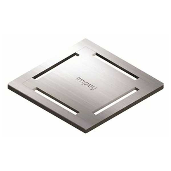 Impey Stamp Stainless Steel Tiled Floor Gully Grate