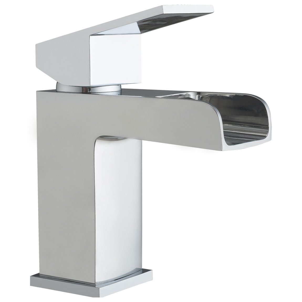 JTP Gleam Basin Mixer Tap with Click Clack Waste Single Handle - Chrome