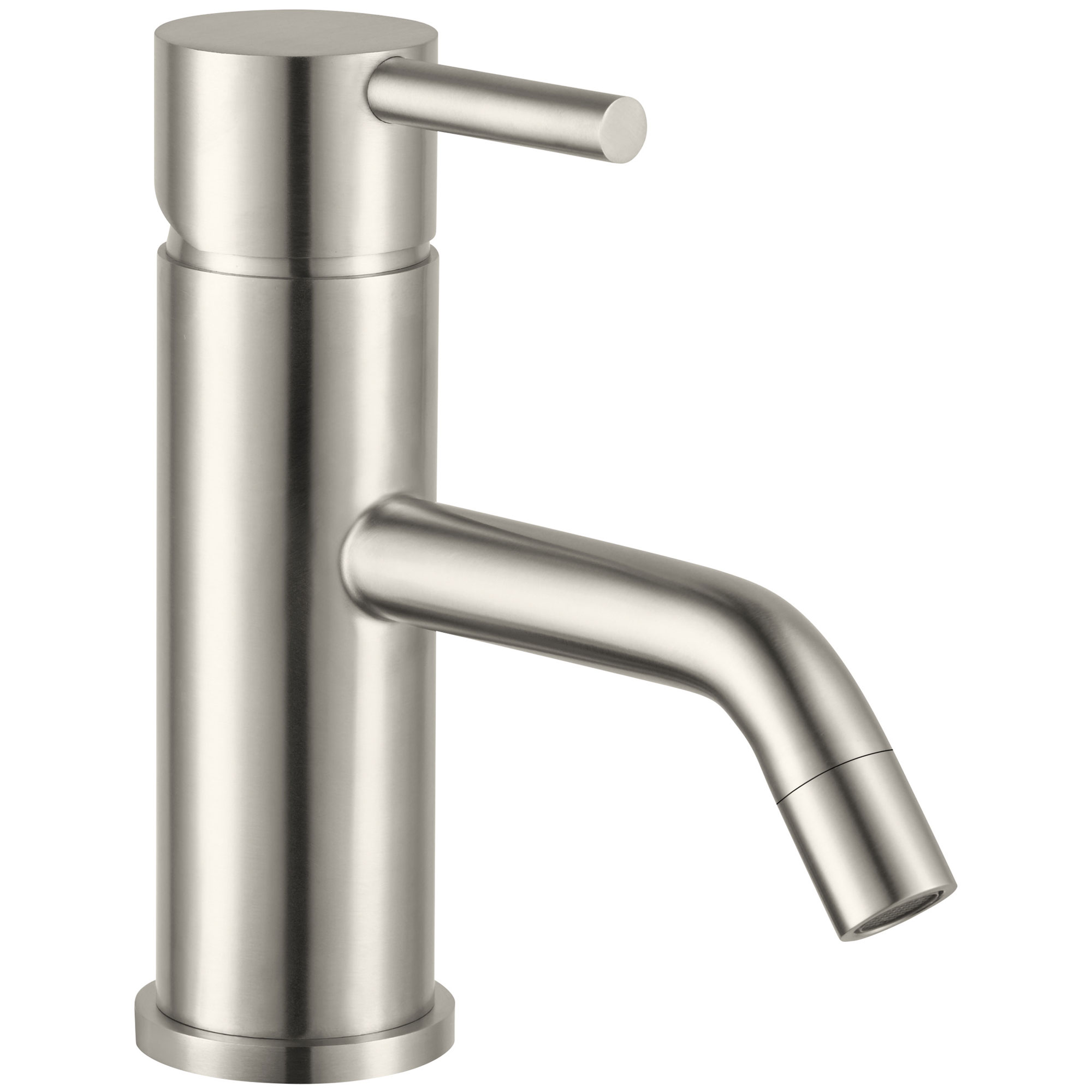 JTP Inox Basin Mixer Tap 110mm Spout Single Handle - Stainless Steel