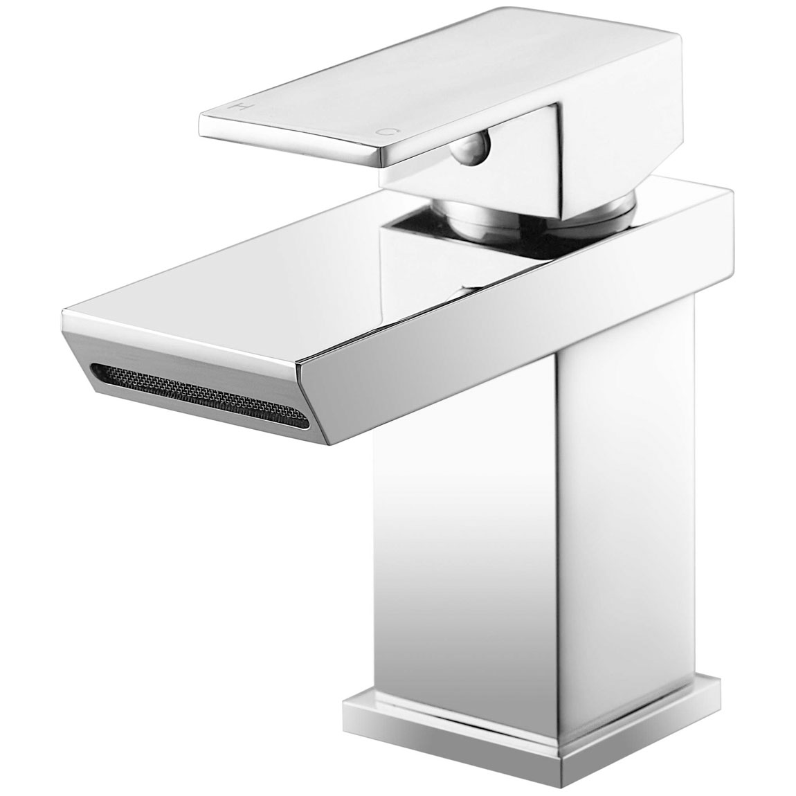 JTP Lava Basin Mixer Tap with Click Clack Waste Single Handle - Chrome