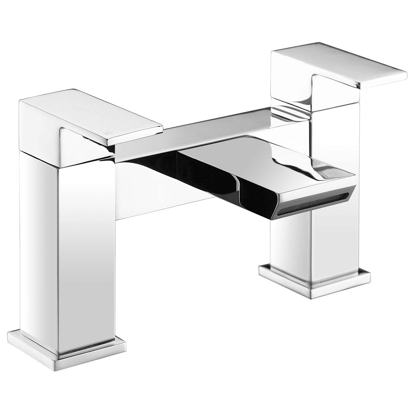 JTP Lava Deck Mounted Bath Filler Tap - Chrome