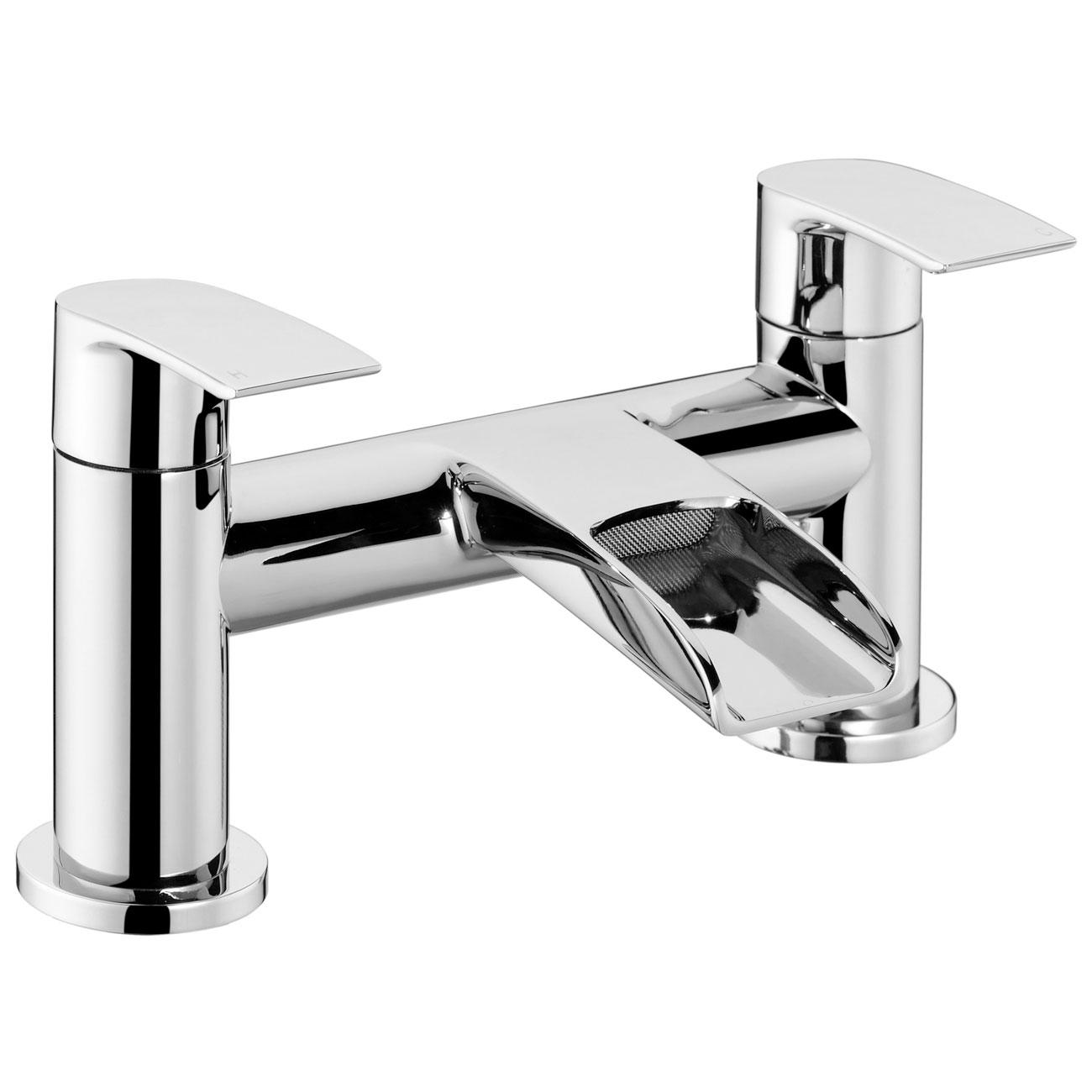 JTP Ravina Deck Mounted Bath Filler Tap - Chrome