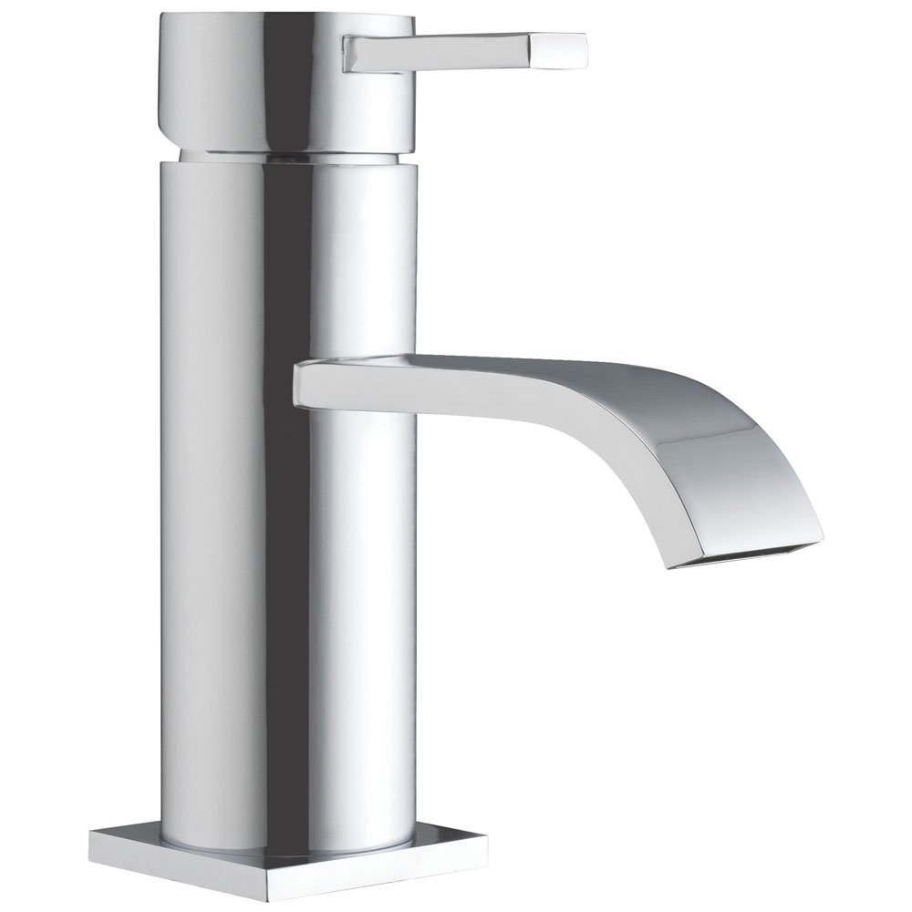 JTP Sprint Basin Mixer Tap with Click Clack Waste Single Handle - Chrome