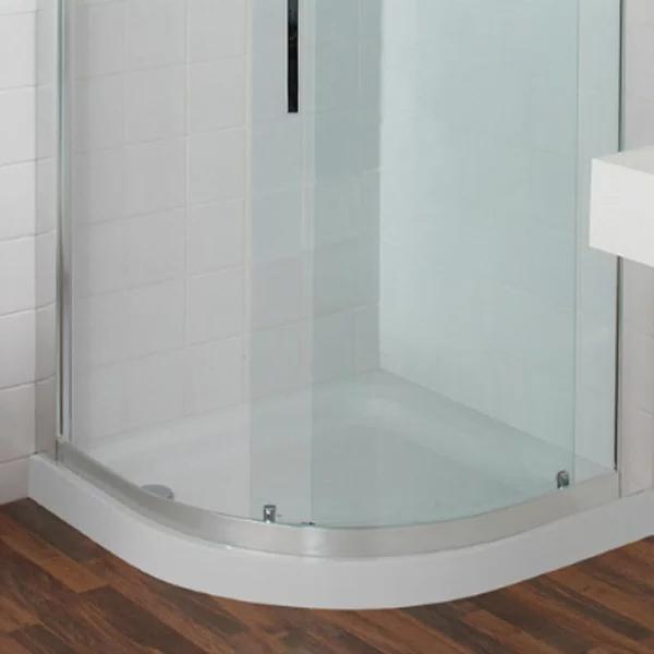 Just Trays JT Ultracast Quadrant Shower Tray 900mm x 900mm 2 Upstand-0
