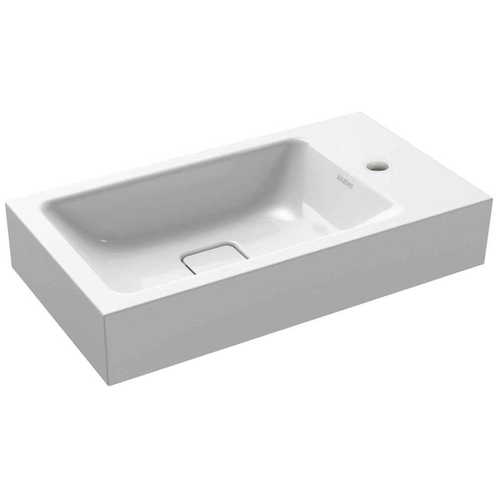Kaldewei Cono Wall Hung Basin 550mm Wide - 1 Tap Hole