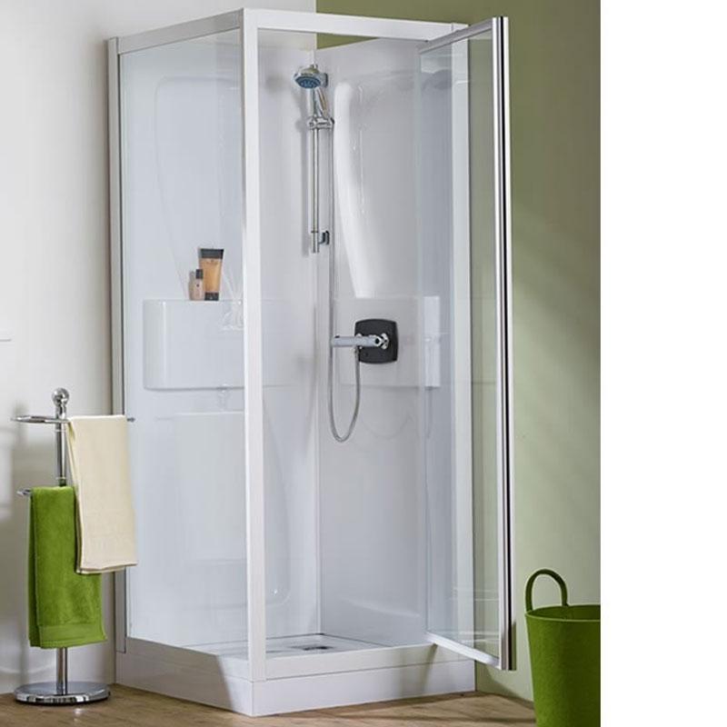 Kinedo Kineprime Shower Cabin   CA540TTN   800mm x 800mm   Clear