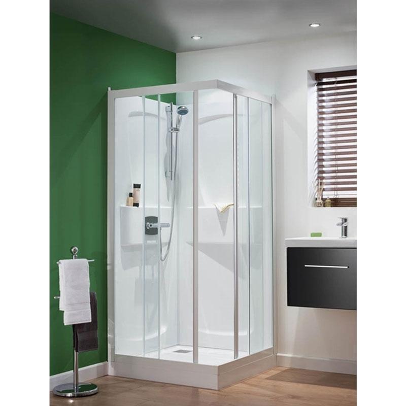 Kinedo Kineprime Shower Cabin | CA5509TTN | 900mm x 900mm | Clear