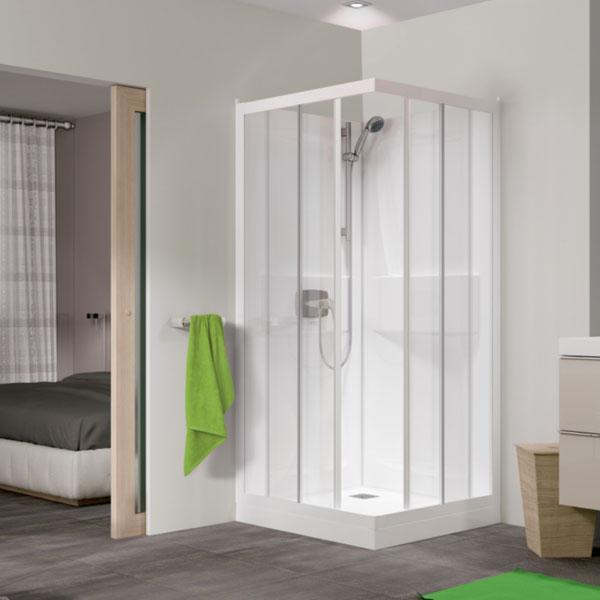 Kinedo Kineprime Shower Cabin | CA701TTN | 800mm x 800mm | Clear