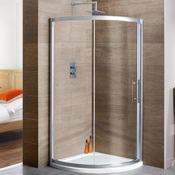 MX DucoStone Quadrant Shower Tray with Waste 800mm x 800mm Flat Top