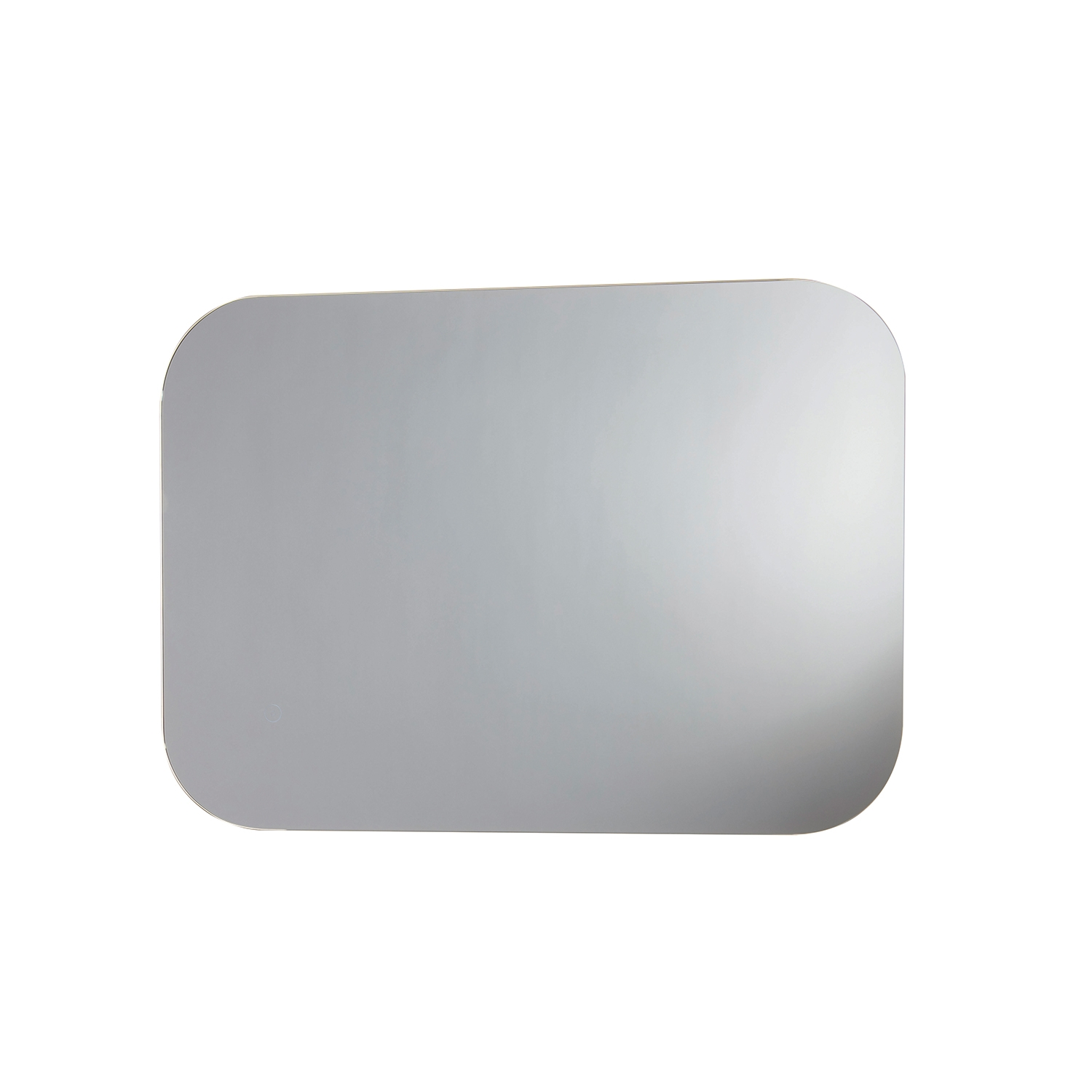 Orbit Aura LED Bathroom Mirror with Demister Pad and Shaver Socket 700mm H x 500mm W