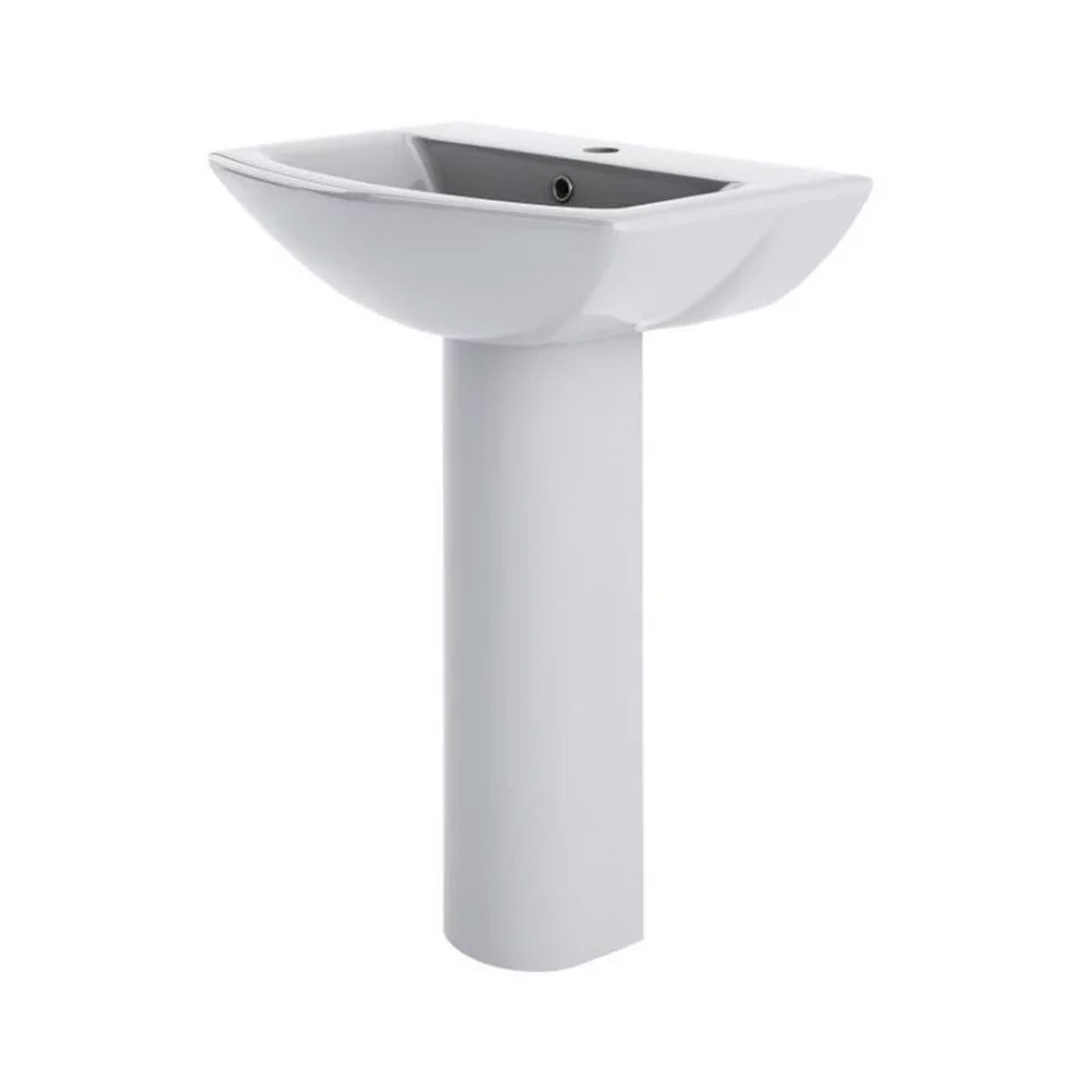 Bliss Complete Bathroom Suite with 1700mm x 850mm RH L-Shaped Shower Bath-2
