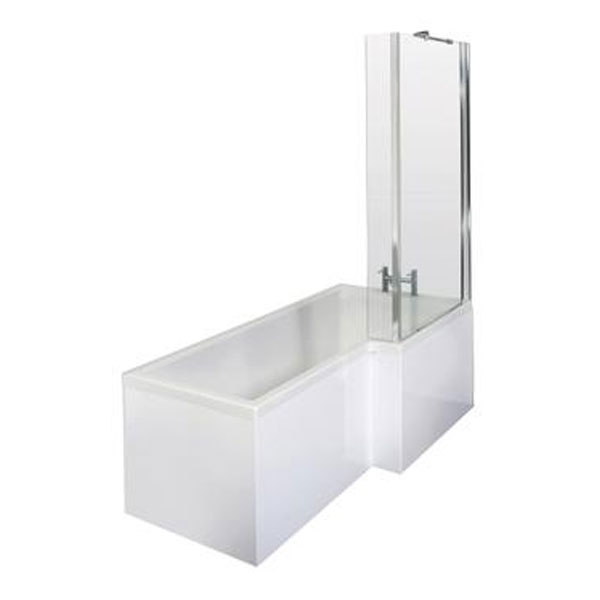 Bliss Complete Bathroom Suite with 1700mm x 850mm RH L-Shaped Shower Bath-3