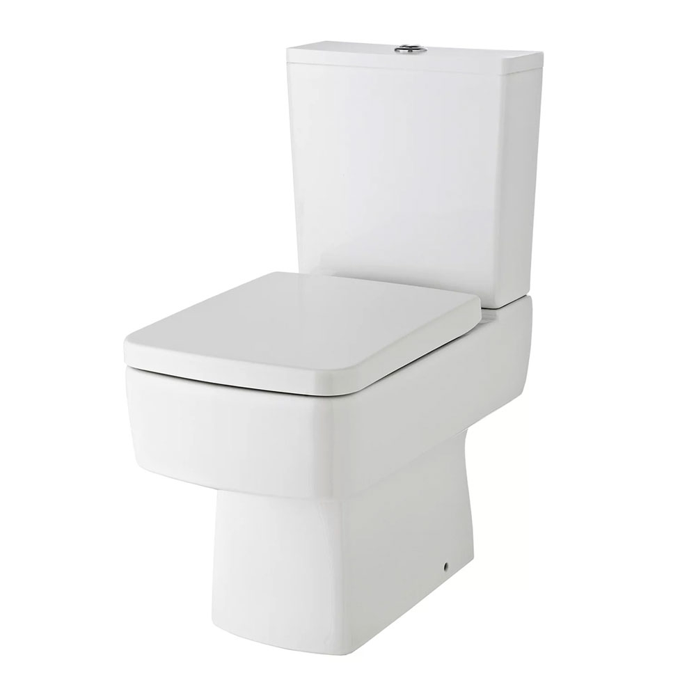Bliss Complete Bathroom Suite with 1700mm x 735/800mm RH B-Shaped Shower Bath