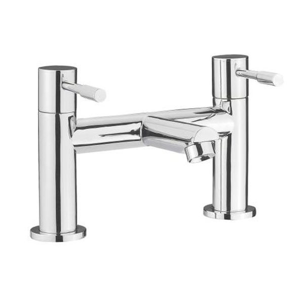 Bliss Complete Bathroom Suite with 1700mm x 735/800mm RH B-Shaped Shower Bath-5