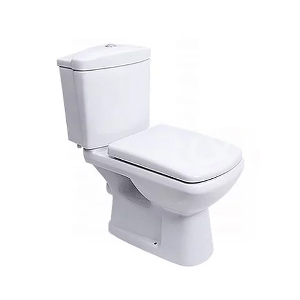 Eris Modern White Bathroom Suite Toilet and Sink-1