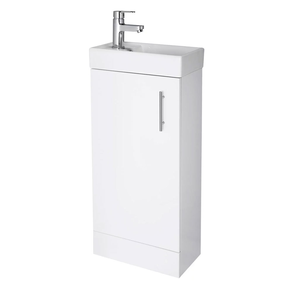 Montego Complete Bathroom Suite with 1700mm x 700mm Square Single Ended Bath-4