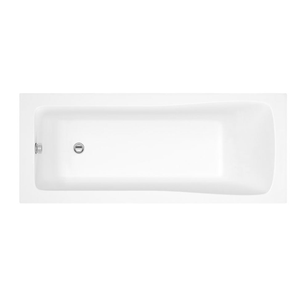 Montego Complete Bathroom Suite with 1600mm x 700mm Square Single Ended Bath