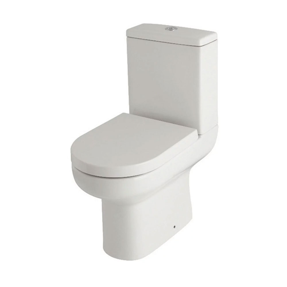 Neptune Complete Bathroom Suite P-Shaped Shower Bath LH & Close Coupled Toilet