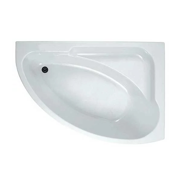 Options Modern Complete Bathroom Suite with Offset Corner Bath 1500mm - Left Handed