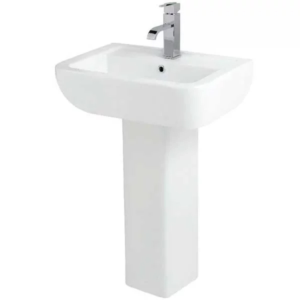 Options Modern Complete Bathroom Suite with Offset Corner Bath 1500mm - Right Handed-1