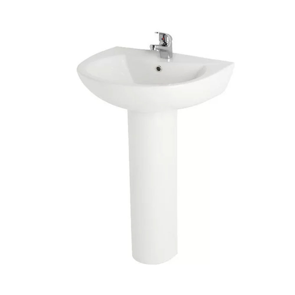 Uranus Bathroom Suite Toilet and 1 Taphole Basin