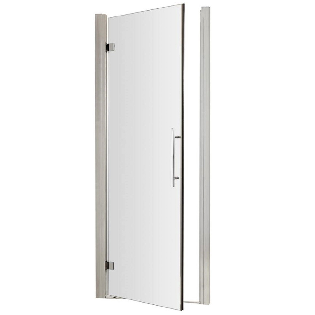 Premier Apex Hinged Shower Door 760mm Wide - 8mm Glass