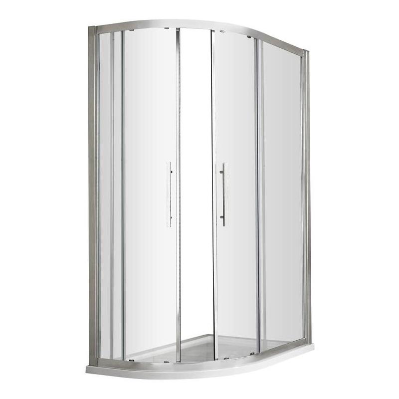 Premier Apex Offset Quadrant Shower Enclosure 900mm x 800mm - 8mm Glass